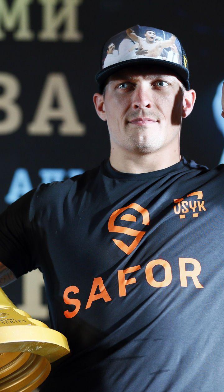 WBC отметила украинских чемпионов Усика и Гвоздика