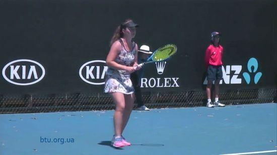 Українська тенісистка пробилася до чвертьфіналу юніорського Australian Open