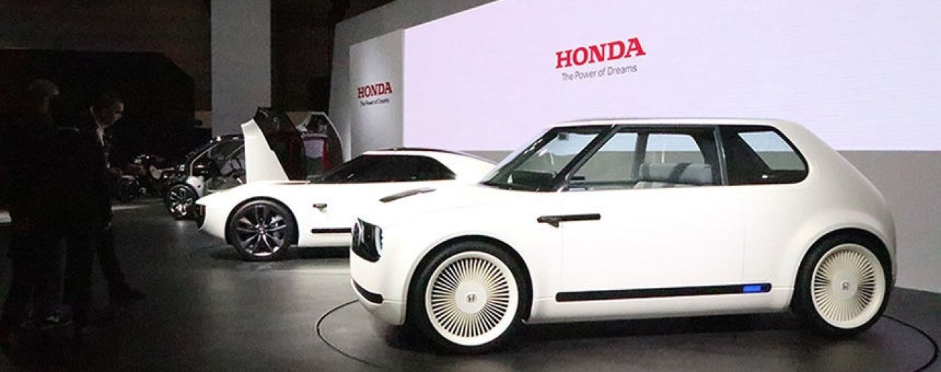 Honda розсекретила зовнішність серійного електрокара Urban EV