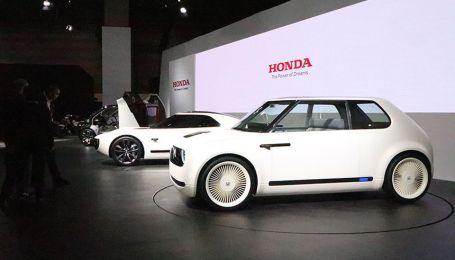 Honda рассекретила внешность серийного электрокара Urban EV