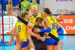 Женская сборная Украины по волейболу узнала соперников на чемпионате Европы