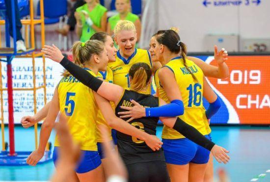 Жіноча збірна України з волейболу дізналася суперників на чемпіонаті Європи