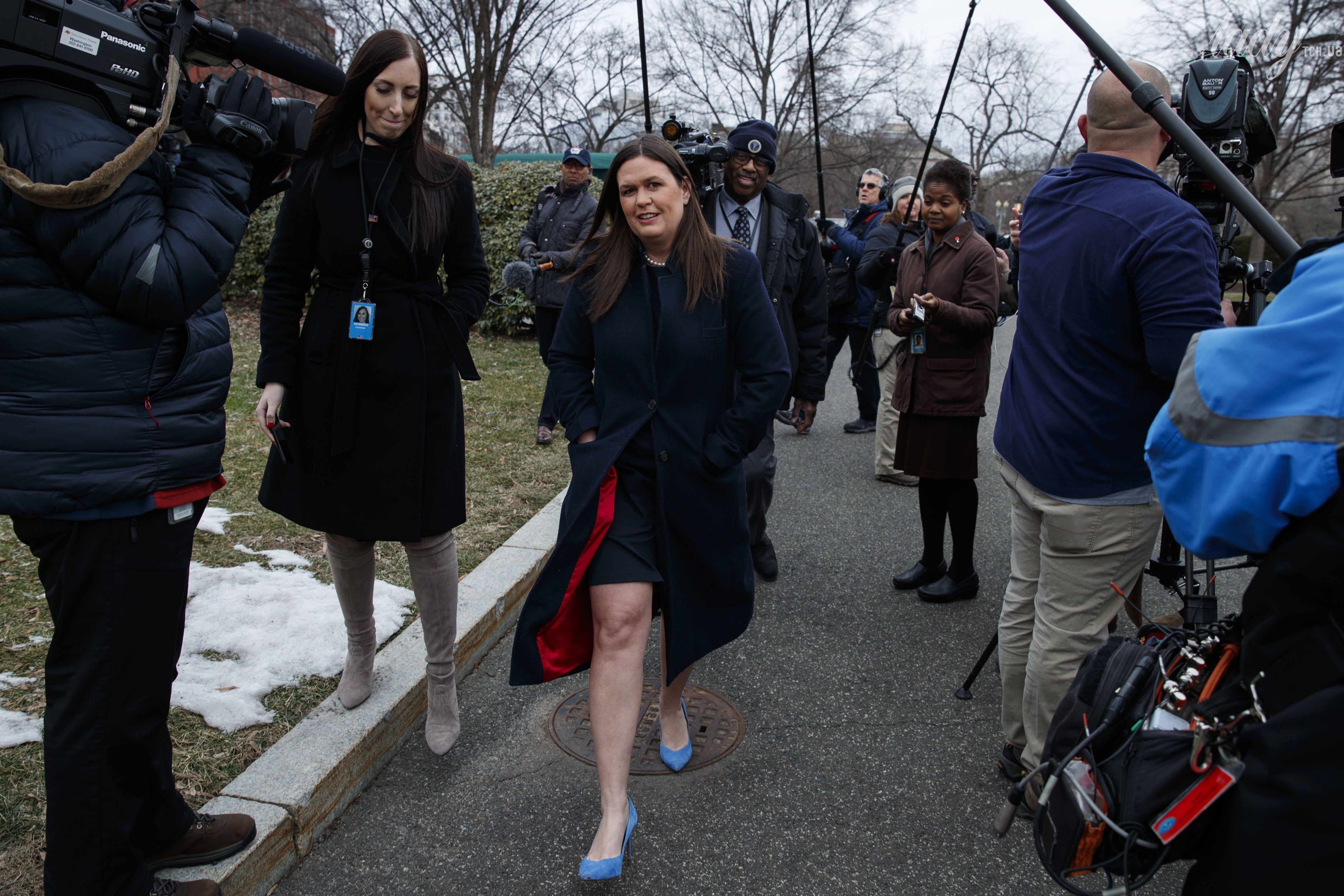 Пресс-секретарь Белого дома США Сара Хакаби Сандерс_2