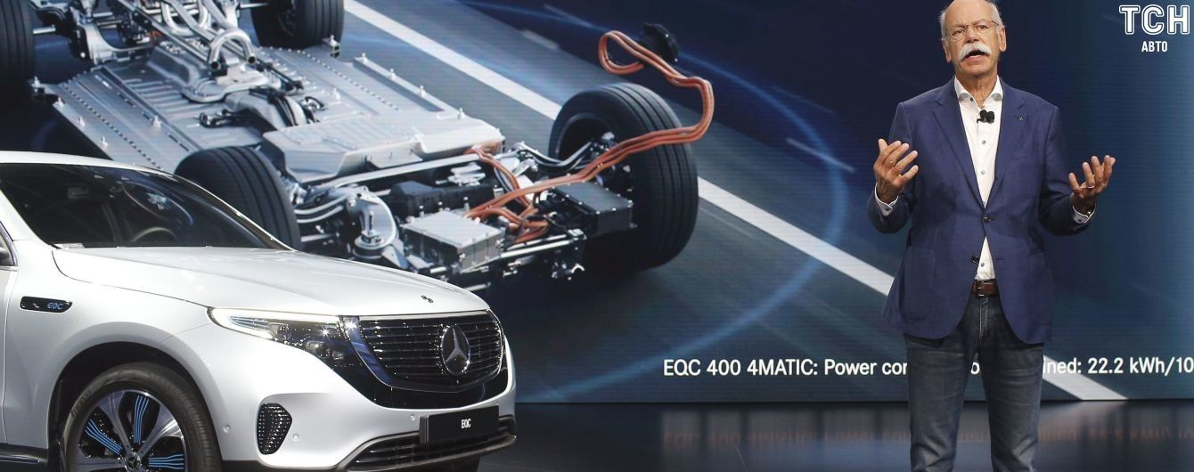 Mercedes-Benz налагодить біля України виробництво батарей для електрокарів