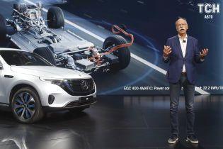 Mercedes-Benz наладит возле Украины производство батарей для электрокаров