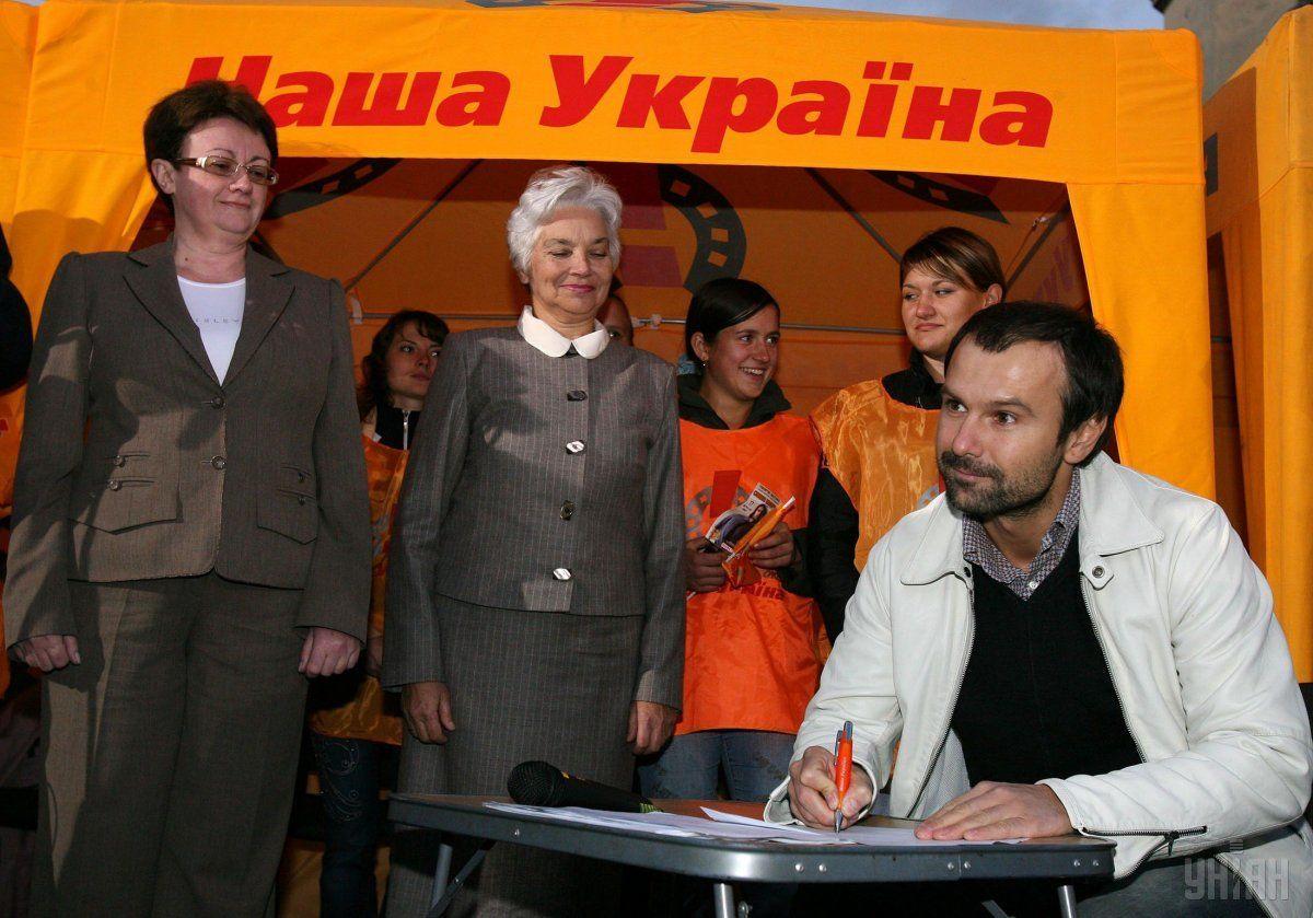 Вакарчук, 2004, НУНС