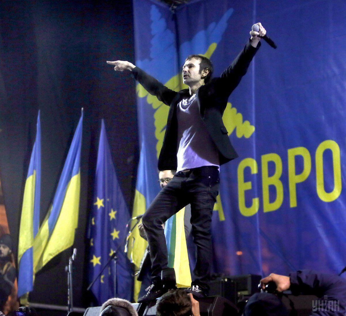 Вакарчук, Майдан, 2013