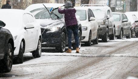 Вечерний Киев 23 января остановили десятибалльные пробки. Карта
