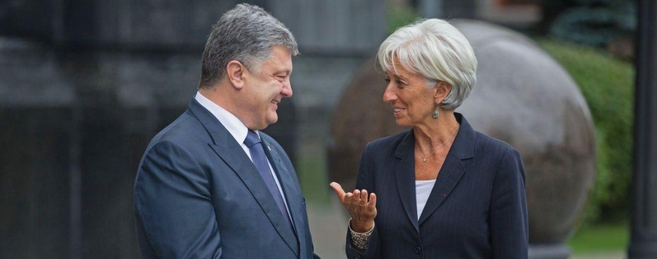 МВФ ожидает от Украины стремительного экономического роста и повышения уровня жизни – Лагард