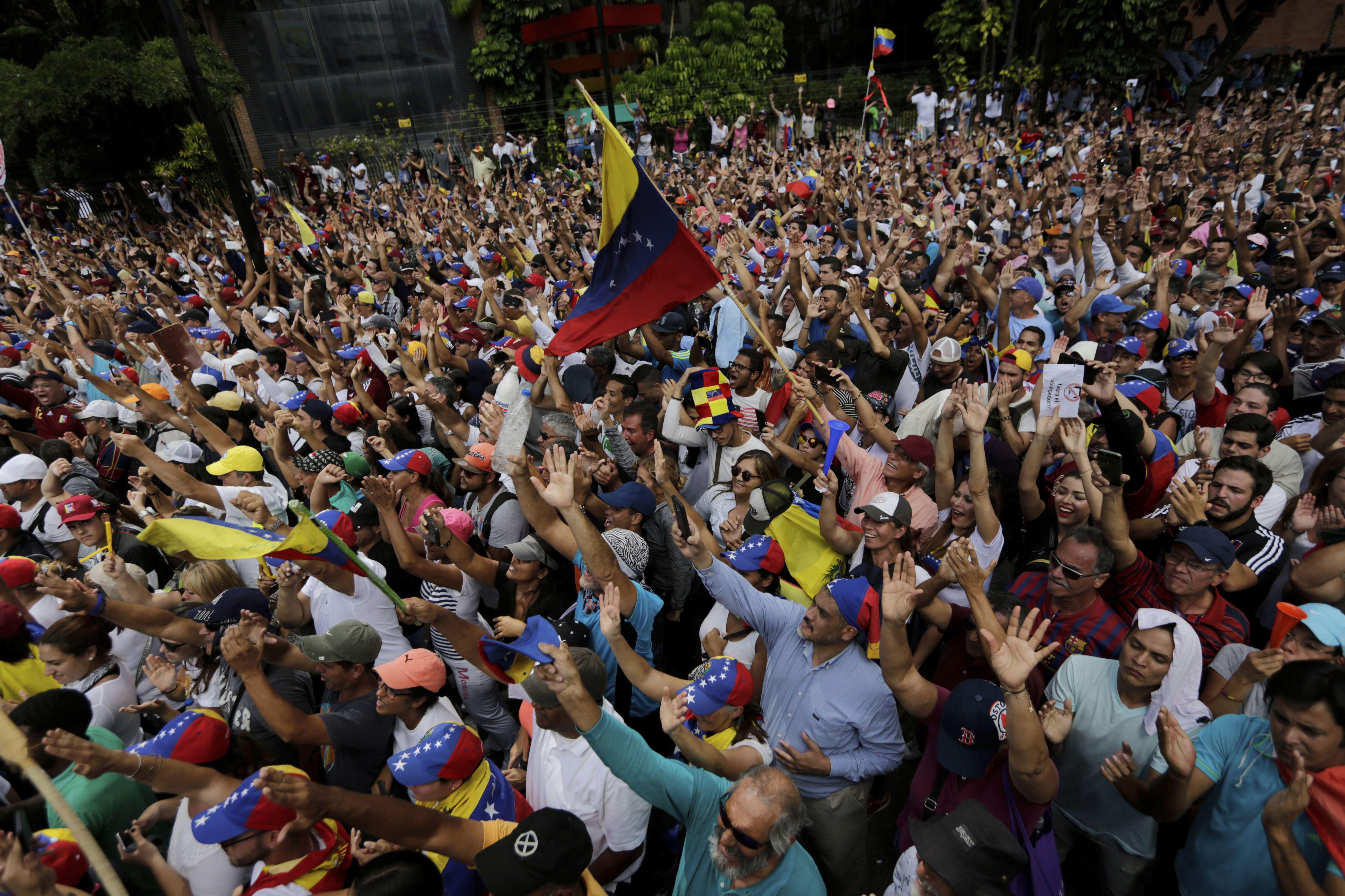 Протести, Венесуела