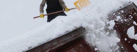 Погода на четвер: Україну заметає снігом, місцями ожеледиця