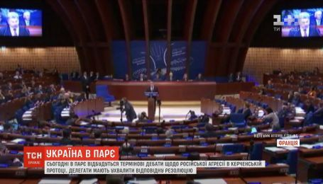 В ПАРЄ відбудуться термінові дебати щодо російської агресії у Керченській протоці