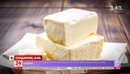 Украинцам продают фальсифицированное сливочное масло