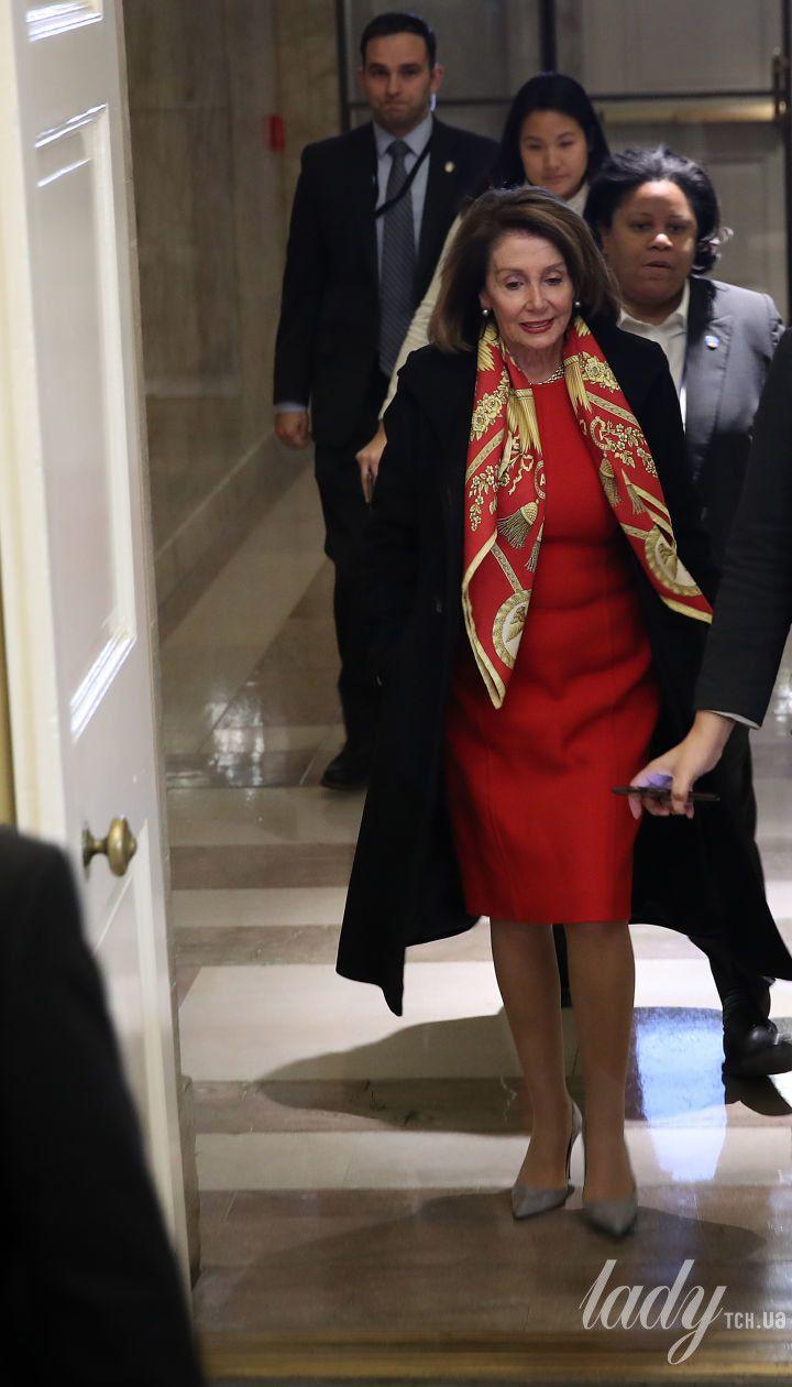 Спикер Палаты представителей США Нэнси Пелоси