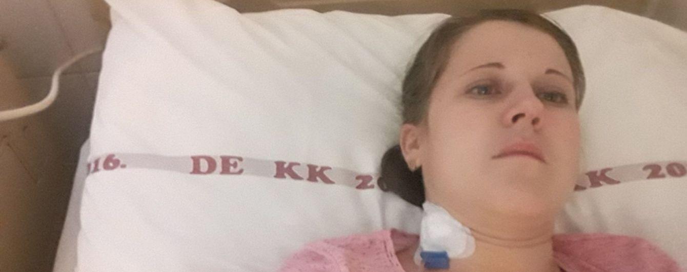 Венгерские врачи спасают жизни Натальи из Закарпатья