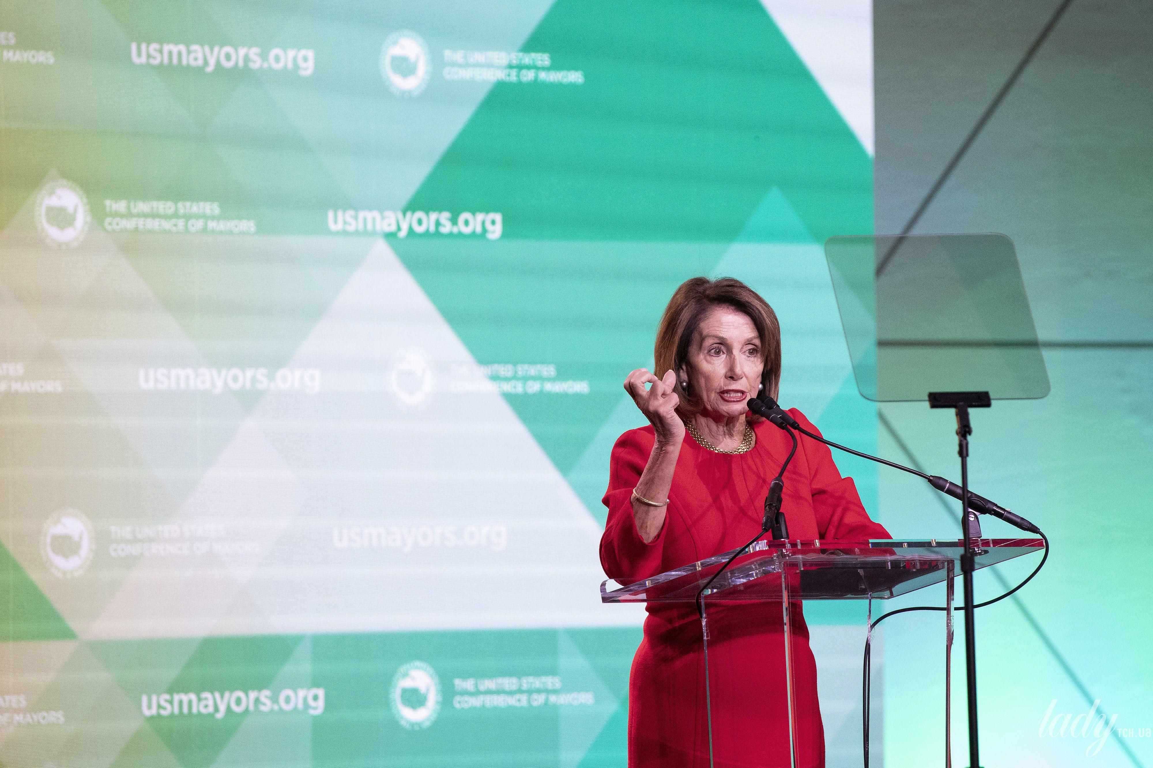 Спикер Палаты представителей США Нэнси Пелоси_1