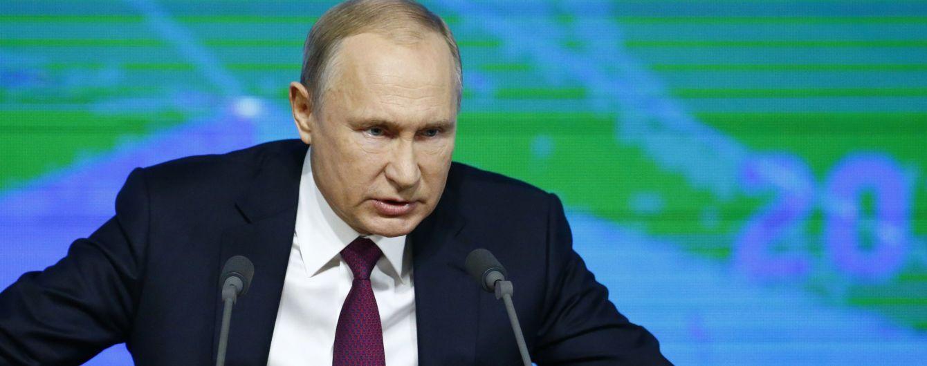 """Путін наказав підготувати """"симетричну"""" відповідь на випробування США нової крилатої ракети"""