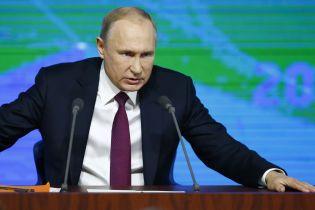 Путін пригрозив реагувати на релігійні конфлікти в Україні
