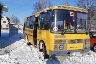На Київщині діти потруїлися після поїздки у шкільному автобусі