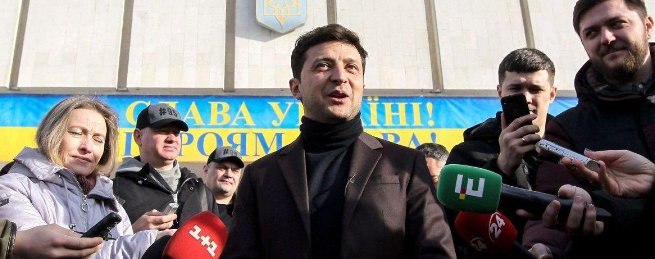 Зеленский исправил декларацию кандидата в президенты - добавил машину жены и скандальную фирму