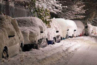 Спасатели призвали украинцев оставить автомобили дома из-за резкого ухудшения погоды