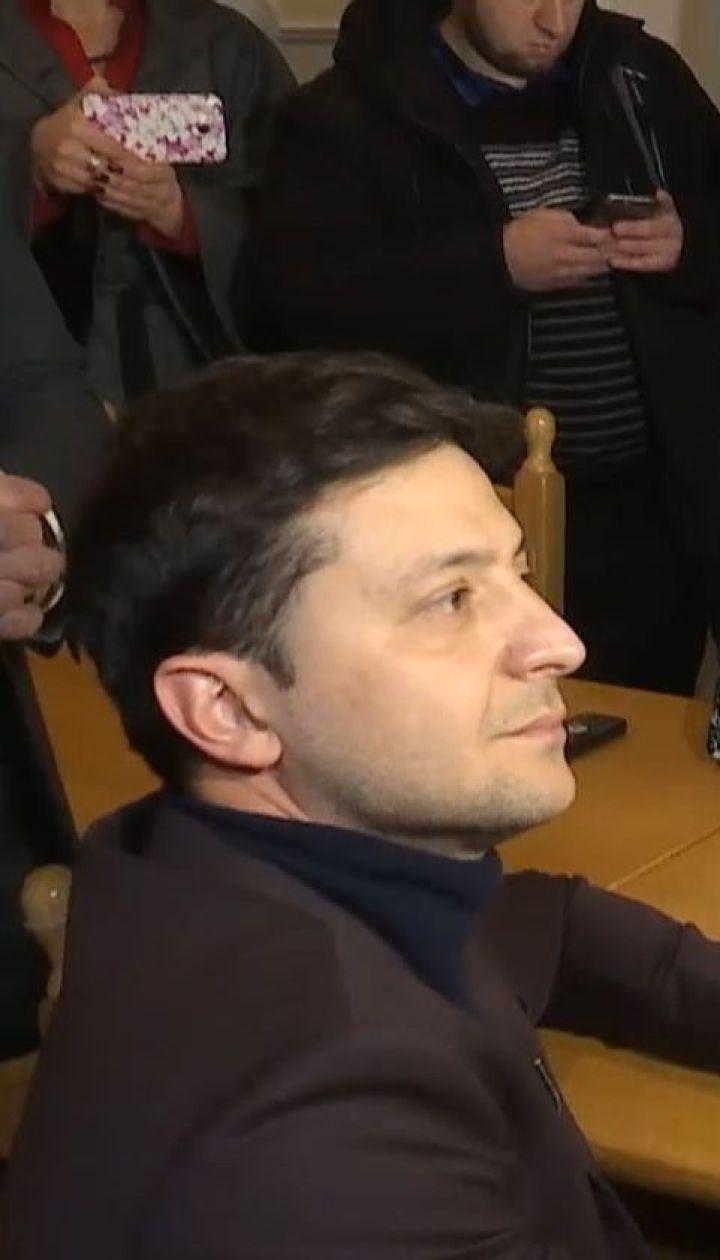 Зеленський у свій день народження офіційно зареєструвався кандидатом у президенти