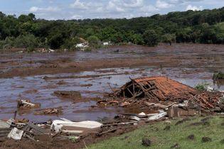 Зруйновані будинки та понад 100 загиблих. Бразильський телеканал показав відео прориву греблі