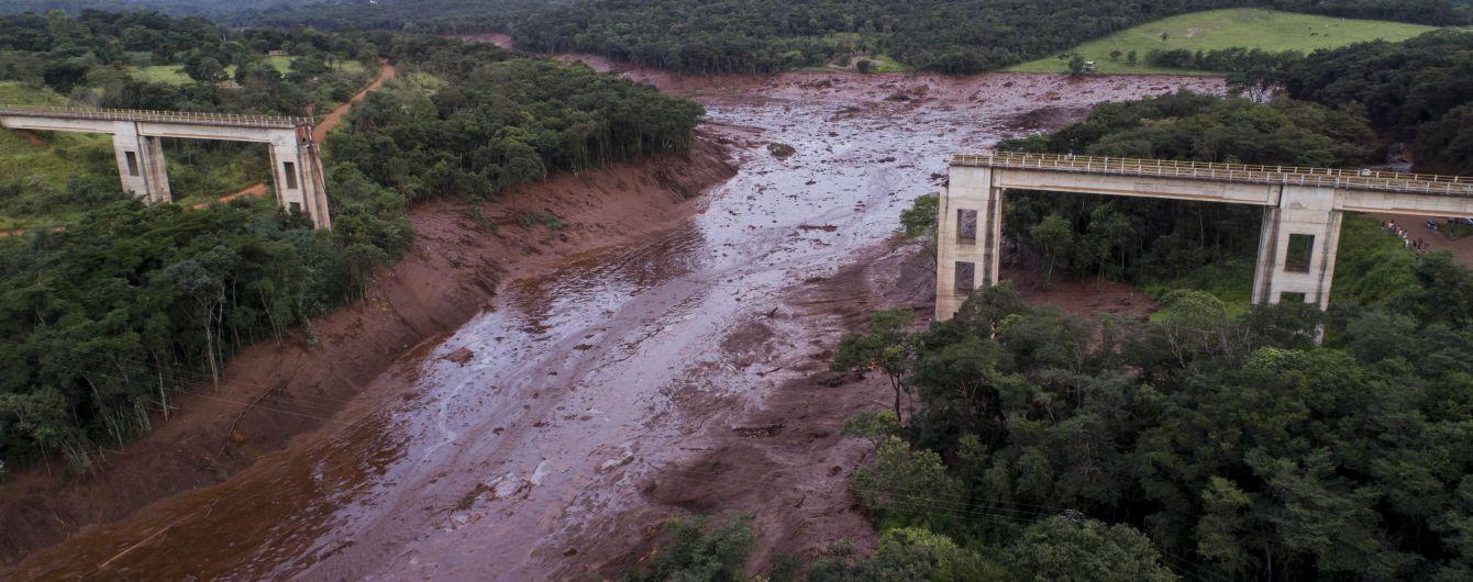 В Бразилии количество погибших в результате прорыва плотины достигло 115 человек