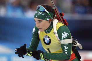 Італійка Вірер виграла гонку переслідування в Антхольці, Меркушина представила Україну
