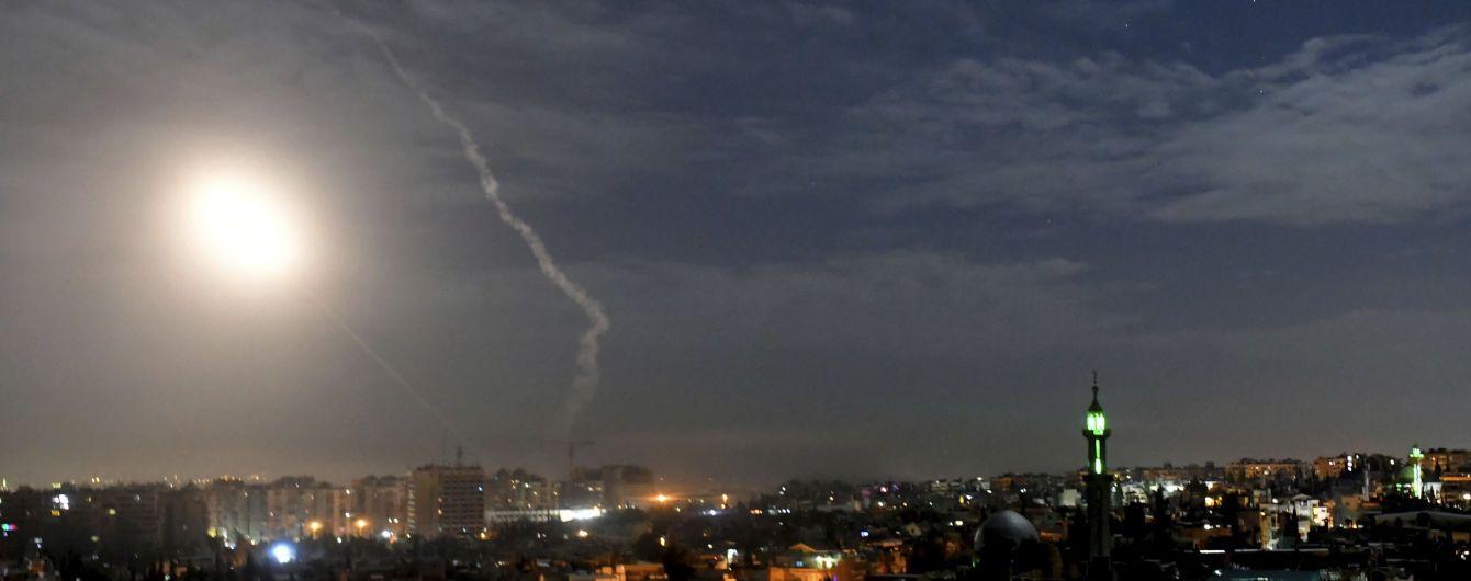 Международная коалиция нанесла ракетные авиаудары по Сирии