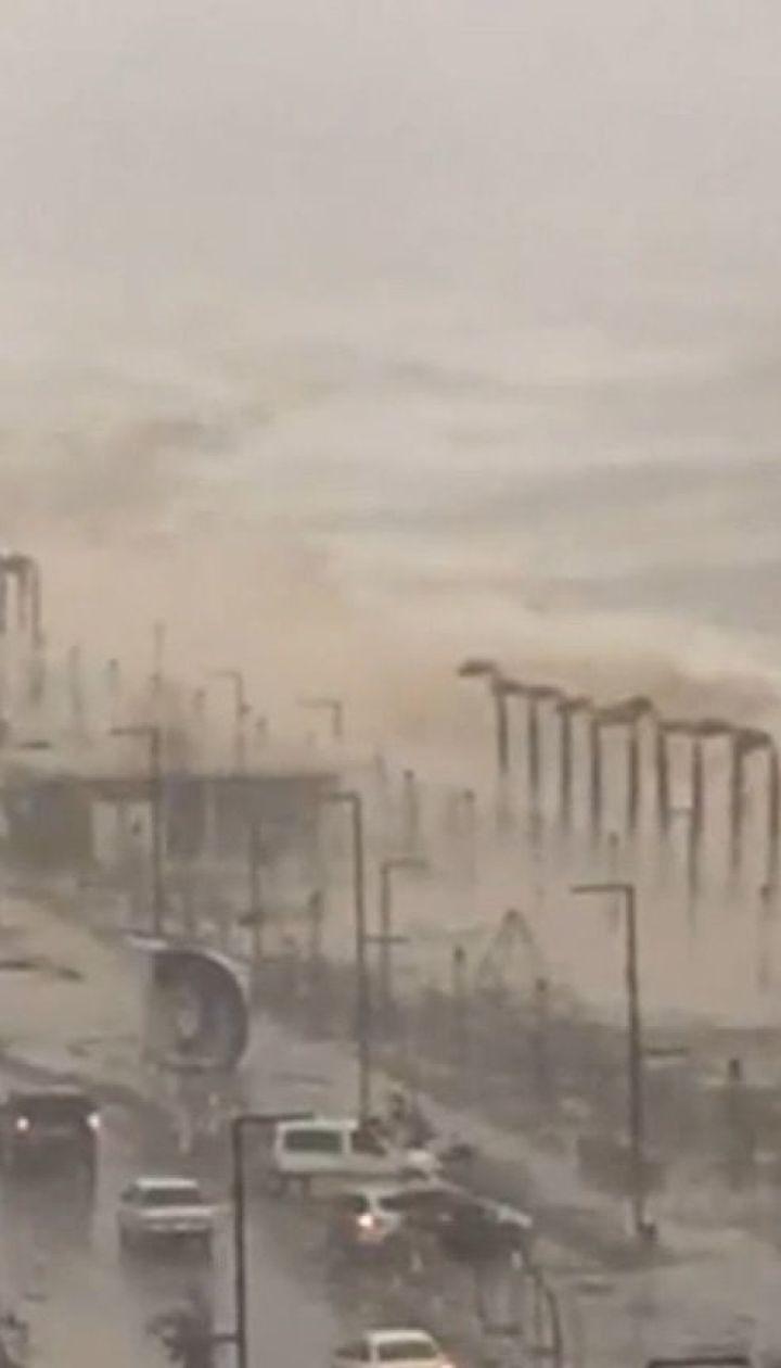 Турецькою Анталією прокотилося щонайменше п'ять торнадо
