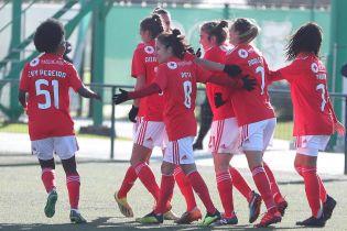 """293:0! Як жіноча команда """"Бенфіки"""" знущається з суперників у чемпіонаті Португалії"""