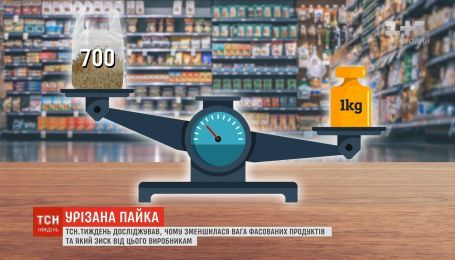 Урізана пайка: чому зменшилась вага фасованих продуктів та який зиск від цього виробникам