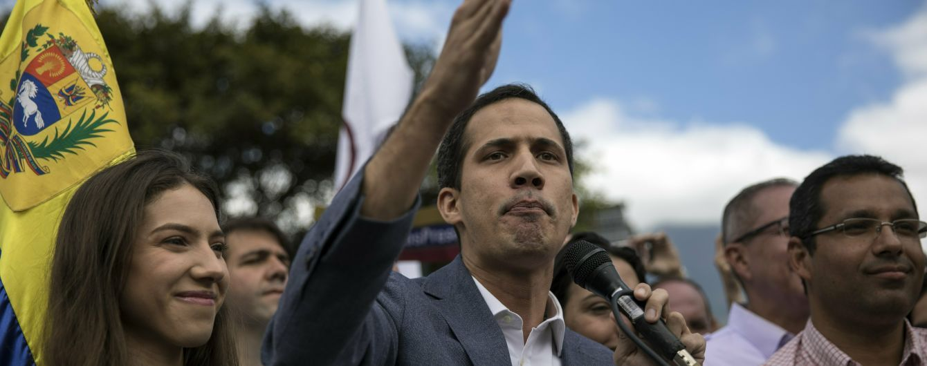 Гуайдо призвал венесуэльцев устроить марш на Каракас