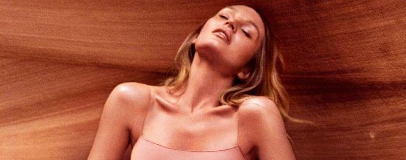 Она безупречна: Кэндис Свэйнпоул в нюдовом купальнике позировала на фоне скал