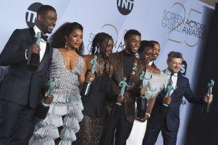 """Актеры """"Черной пантеры"""" получили главную премию Гильдии киноактеров США"""