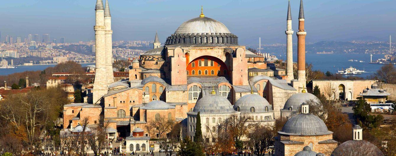 В храме Святой Софии в Стамбуле появится аудиогид на украинском языке