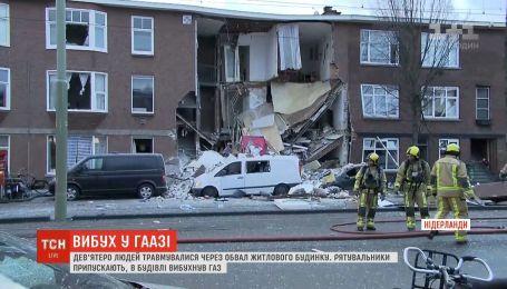 В жилом доме Гааги произошел взрыв
