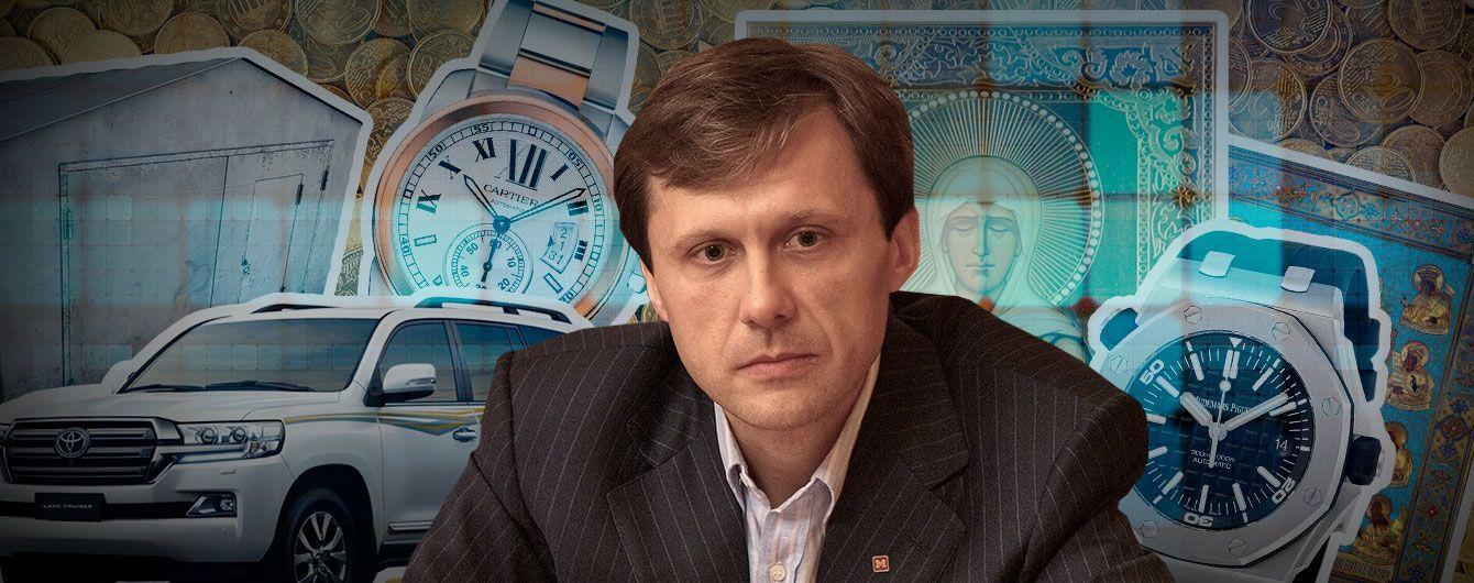 Десятки гаражей и задекларированные иконы: кандидат в президенты Игорь Шевченко подал декларацию