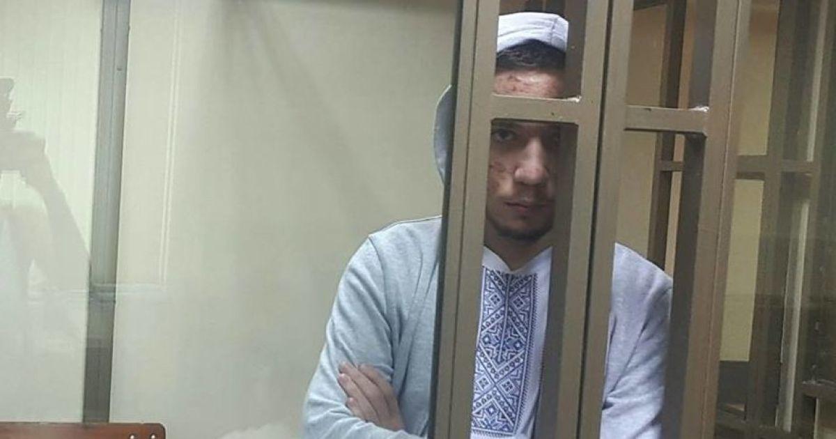 Під посольством РФ у Києві активісти вимагають звільнити політв'язня Гриба