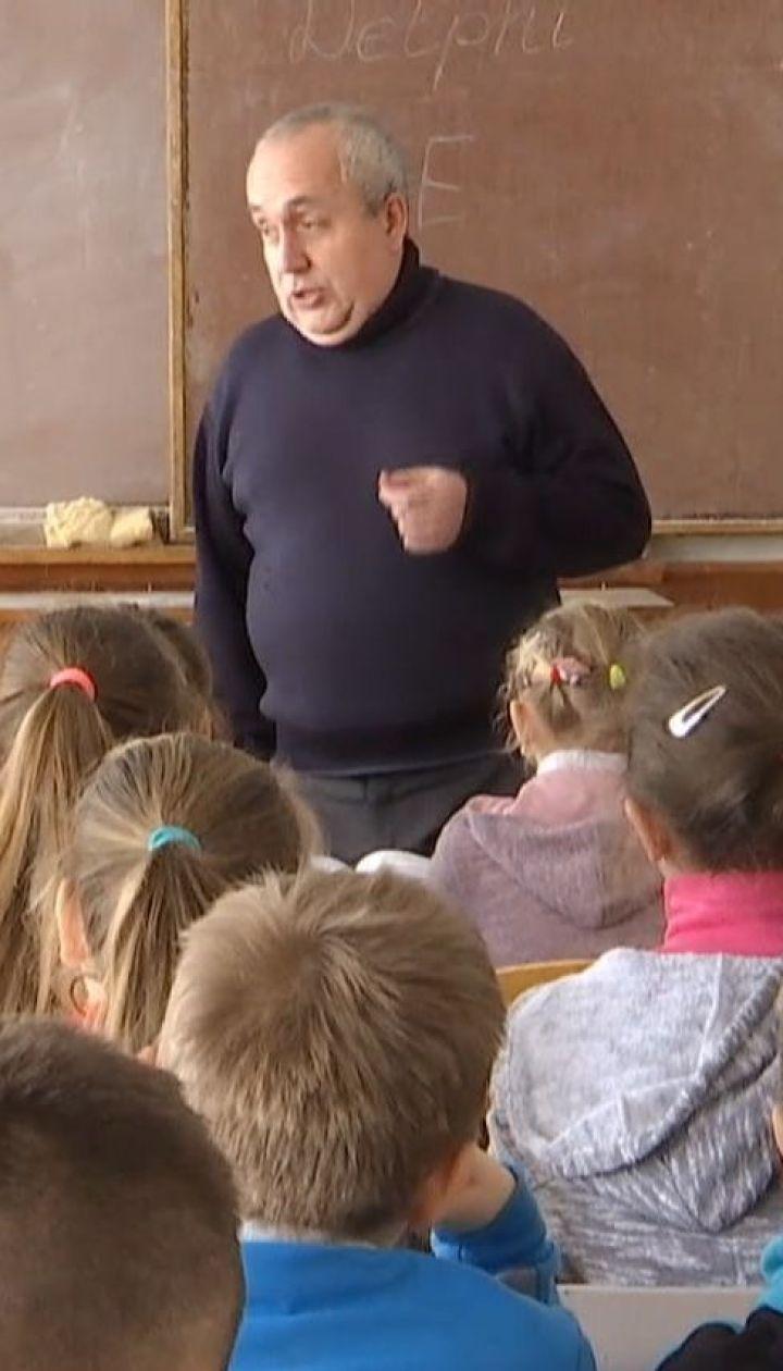 В школе на Львовщине дети всю неделю учились при температуре +9