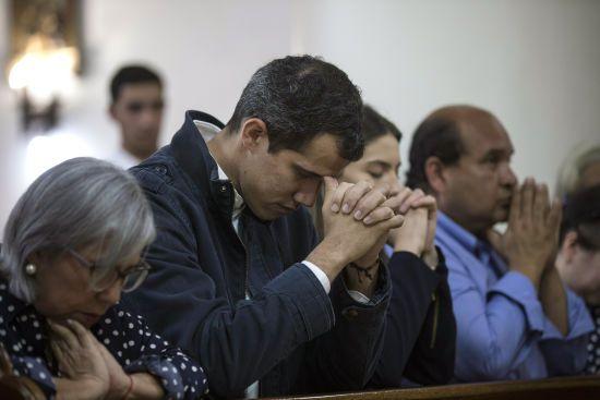 Таємний план США: Пенс спілкувався з Гуайдо в ніч перед проголошенням його тимчасовим президентом Венесуели