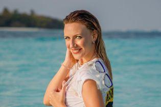 Стройная Леся Никитюк показала фигурку в очередном откровенном купальнике