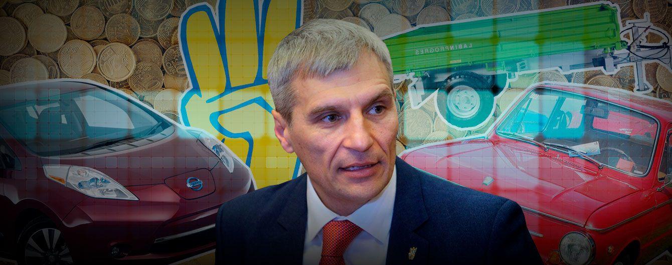 Электромобиль, теплица и дом во Львове: кандидат от националистов Кошулинский подал декларацию