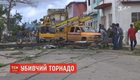 Убивчий торнадо на Кубі: кількість жертв зросла