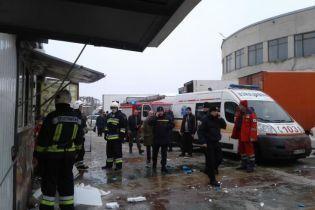 На рынке в Ровно взорвался газовый баллон. Пострадали люди