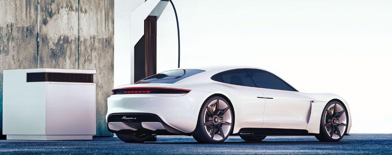 Porsche потратит $70 млн на зарядки для электрокаров Taycan в США