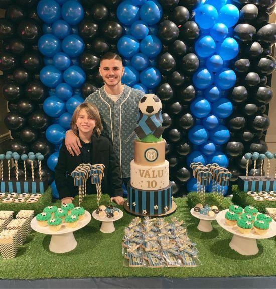 """Капітан """"Інтера"""" привітав сина з днем народження за участю зірок світового футболу"""