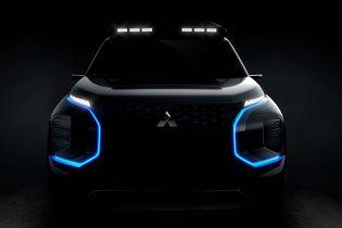 Mitsubishi вперше показала новий електрокросовер на ескізі