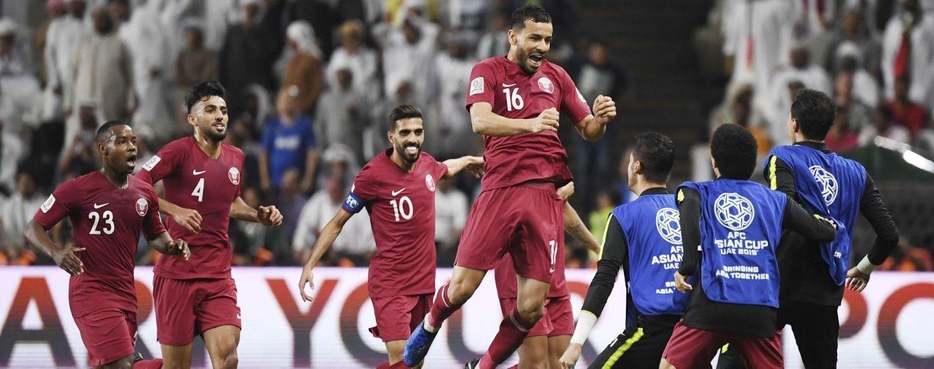 Визначилися імена фіналістів Кубка Азії